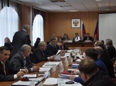 Сессия Мамонтовского районного собрания депутатов