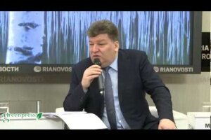 Пресс-конференция В.Маслякова в РИА Новости